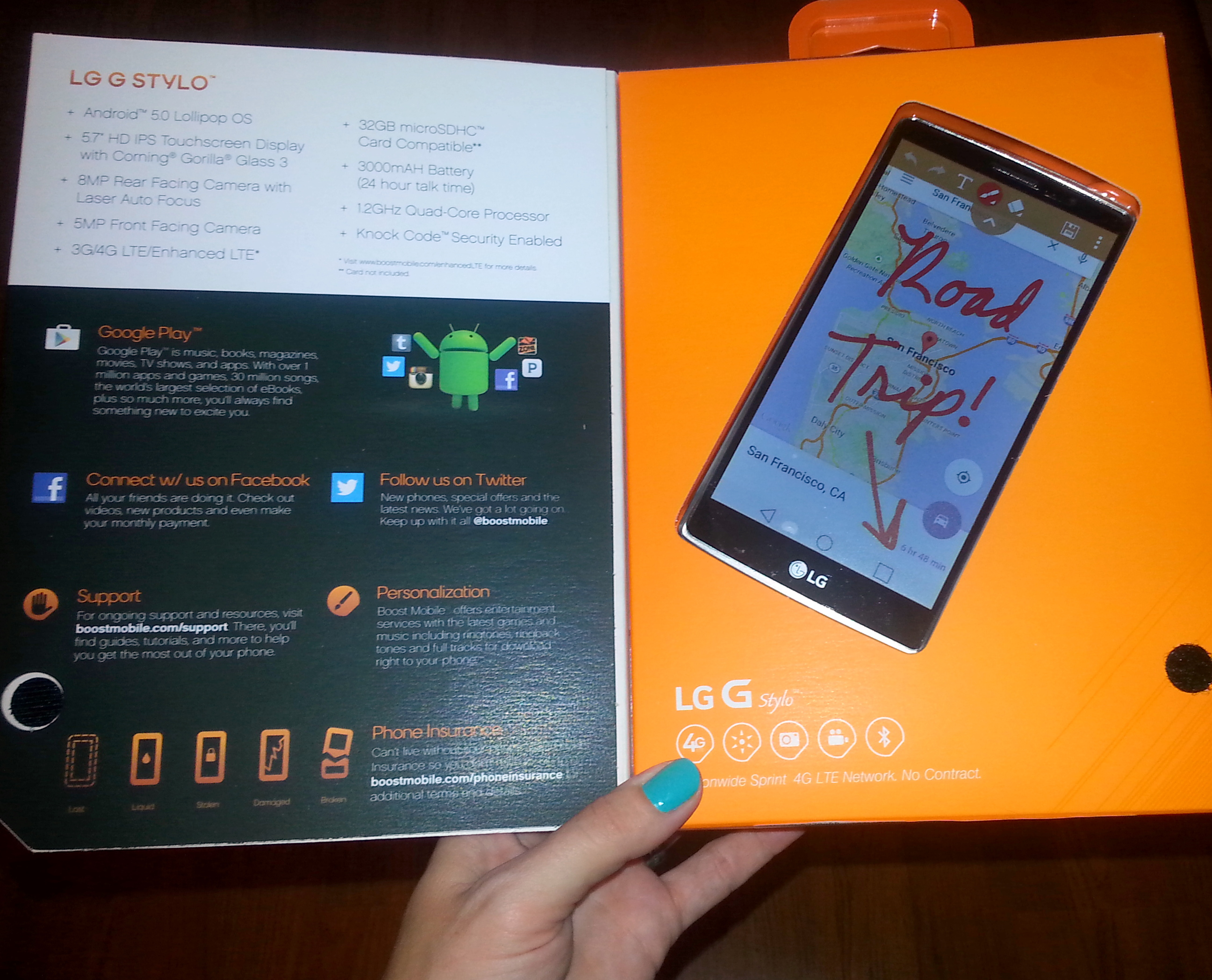 Boost Mobile Review and Giveaway | Stephany's Sweet Life