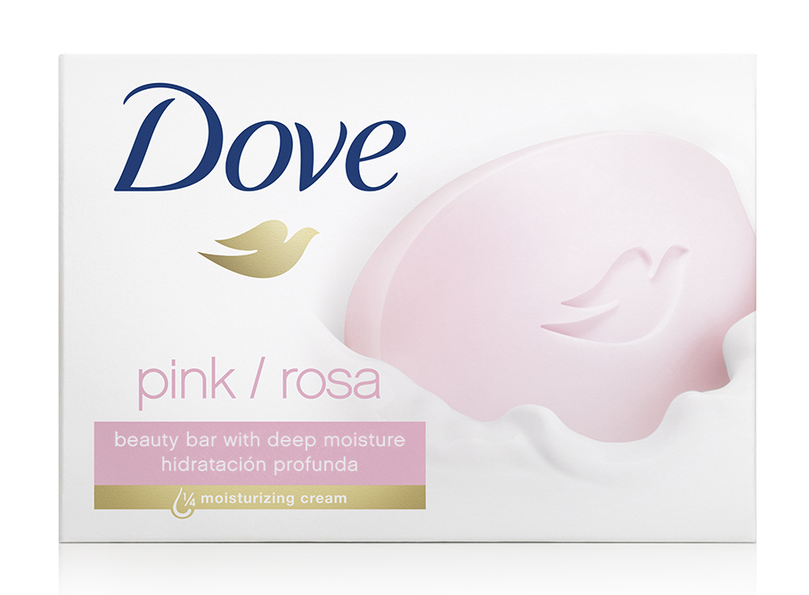 Wrap Yourself In Moisture With The Dove Pink Beauty Bar