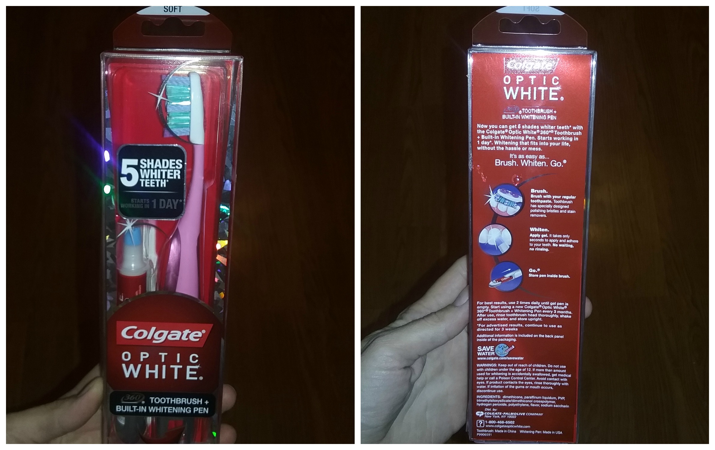Colgate Optic White Toothbrush Whitening Pen The Summer S Must