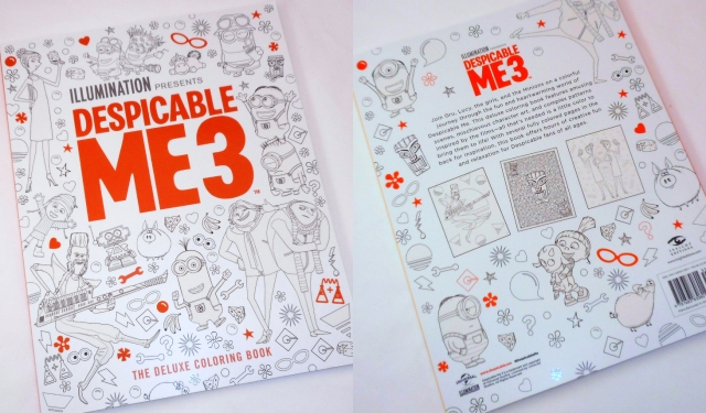 Fun Despicable Me 3 Coloring Books And Journals From Insight